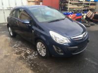 BREAKING - VAUXHALL CORSA D FACELIFT - ALL PARTS AVAILABLE