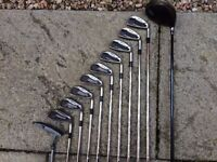Golf Clubs - Mizuno MX19 Irons Nike SQ DYMO and Taylormade Stand Bag