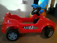 Pedal Child Car in Red color for sale