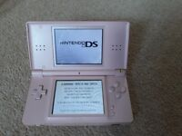 Pink Ni tendo DS Lite with Charger