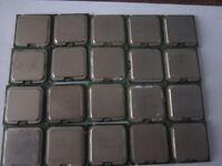 JOB LOT of SOCKET 775 PROCESSOR CPU (READ DESCRIPTION!)