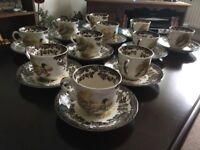 Royal Worcester Pallisy Game Series - Coffee Set