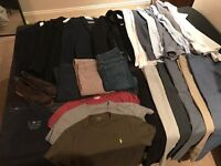 25 Items of REISS / BOSS / HILFIGER / ZARA menswear for SALE.... *Can be bought individually.