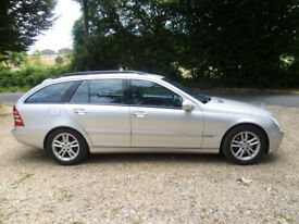 Mercedes C320 SE Avantgarde estate 2003 with full service history .