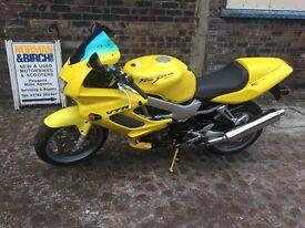 Honda Firestorm VTR 1000, 1998, Yellow, Sports bike, Delivery, CLEAN