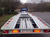 brand new trailer 5 meter long for lwb vans