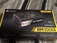 Brand New Corsair RM1000i PC Power Supply 1000 Watt