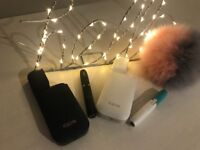 Iqos x2 Brand new, sealed. 7 packs gratis with either white or navy iqos gratis