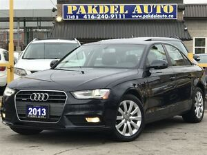2013 Audi A4 2.0T PREMIUM PKG*AWD*B-TOOTH*XENON LED LIGHT*