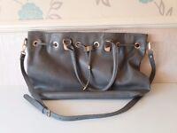Grey Next handbag