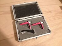 Ortofon Concorde Scratch Cartridges (pair with case and spare stylus)