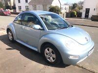 VW Volkswagen Beetle blue petrol 1.6 70,000 miles