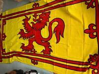 New 3yd Scottish Lion Flag