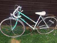 Vintage retro 1991 falcon papillon ladies Racer bike spares or repair