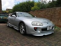 Toyota Supra, 3.0L, Na Auto (import), 1994(M). 1 owner since Imported (2004) £4000 ono