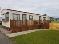 IMMACULATE COSALT STATIC CARAVAN 35 X 12 6 BERTH, 2 BEDROOMS £13,000