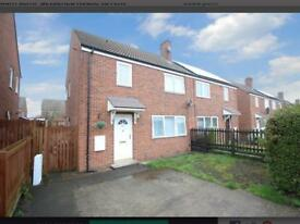 3 Bedroom semi to rent in Fawdon near gosforth