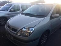 Renault scenic 1.4 petrol mot july 80k