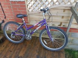 Raleigh Ladies Mountain Bicycle in good condition
