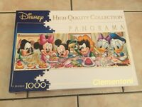 1000 Piece Disney High Quality Collection Panorama Puzzle