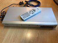 TOSHIBA DVD PLAYER ( SD130ESB ) WITH REMOTE CONTROL and SKART LEAD