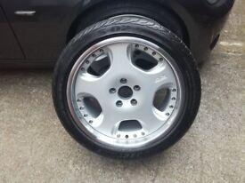 Jaguar XKR Arden rear 19', OZ Opera with tyre 285 35 19