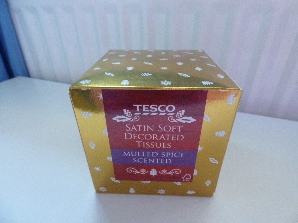 Christmas Mulled Spice Satin Soft Scented Tissues NEW