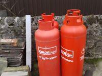 4 x 47kg Empty Calor Gas Bottles