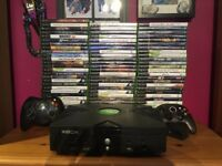 Original Xbox - With 85 Boxed Games - 1 x Wireless + 1 x Wired Controller - Retro Fun !