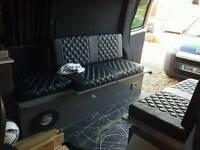 Vw T5 SWB camper/Dayvan interior