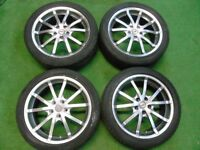 """17"""" TSW ALLOY WHEELS TO FIT FORD MONDEO, FOCUS, CMAX, SMAX, GALAXY"""