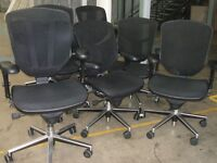 "8 x ""ENJOY"" Office Chairs"