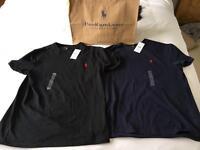 Ralph Lauren T shirts X 2 (SMALL)