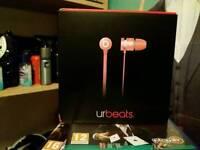 Beats earphones RARE PINK (new)