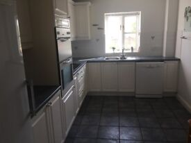 White High Gloss Kitchen with Appliances, Worktops and sinks