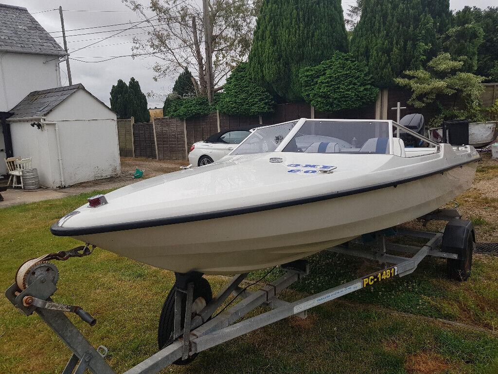 Fletcher 15ft 70hp speedboat