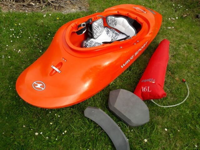Wavesport Project X 64 Playboat / Kayak (Large), new outfitting | in  Bridgend | Gumtree