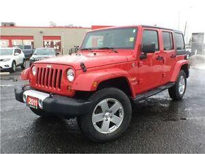 2011 Jeep Wrangler SAHARA**4X4**ALLOY WHEELS**
