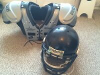 For Sale: American Football pads and helmet