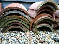 Old Clay ridge tiles reclaim