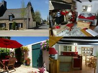 Charming village house for sale in central Brittany, France