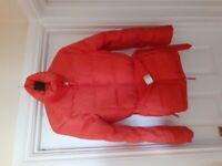 United colours of benetton orange coat