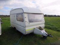 Avondale Wren vintage 2 Berth Caravan 1980's
