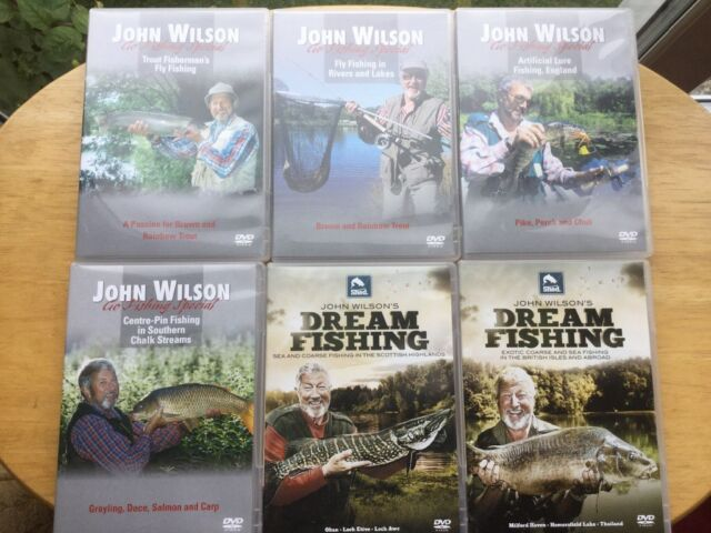 John Wilson Fishing DVDs x 6  Watched Twice  £7 | in Bournemouth, Dorset |  Gumtree