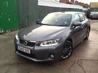 Lexus CT 200h 1.8 SE-I CVT, Hybrid with Navigation, sport alloys and tinted windows- Great condition