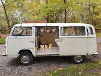 VW Campervan hire weddings & camping