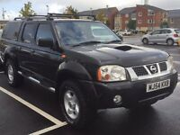 NISSAN NAVARA D22 4X4 WITH REMANUFACTURED ENGINE 6 MONTHS WARRANTY