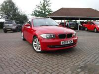 BMW 1 SERIES 116i [2.0] Sport (red) 2009