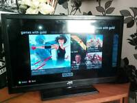 24 inch led tv/dvd for sale