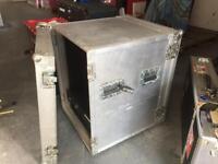 16-U Rackmount Flightcase + free 2-U Rack Drawer